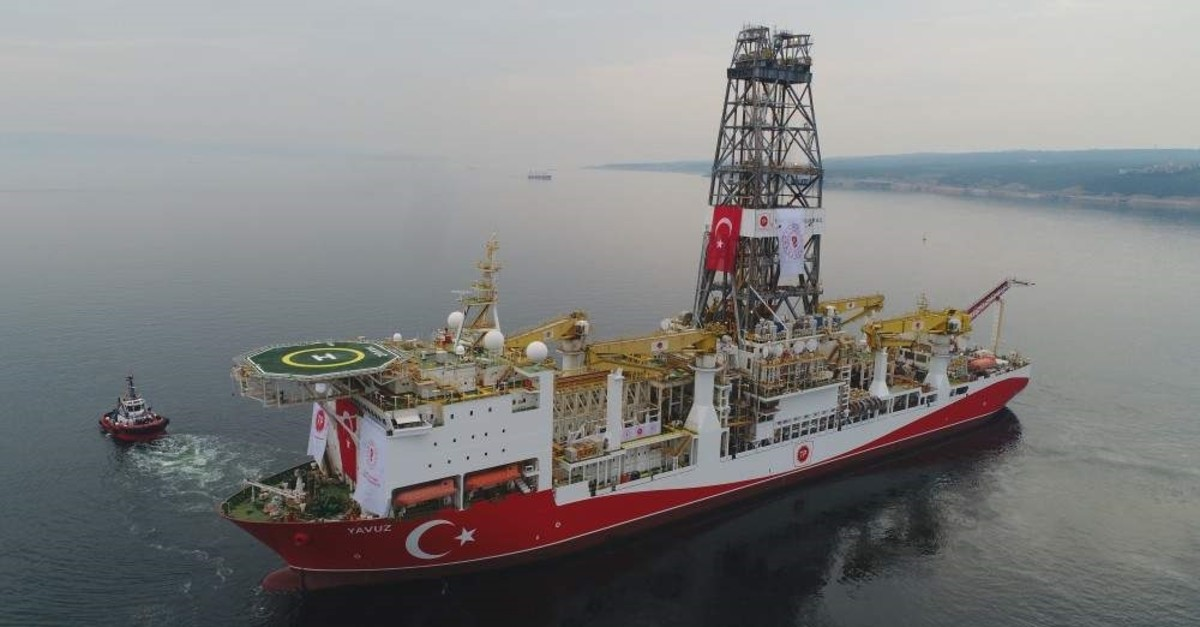 Turkey's second drilling vessel Yavuz is conducting exploration activities in the Eastern Mediterranean.