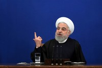 Trump doesn't want war ahead of 2020 vote, Iran's Rouhani says