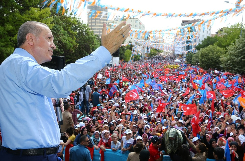 Speaking during his rally in Nevu015fehir, President Erdou011fan criticized the opposition for being clueless on the improvements in the country.