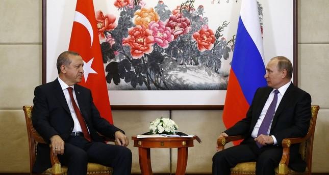 أردوغان وبوتين يدعوان لاتخاذ الخطوات اللازمة لتحسين العلاقات بين البلدين