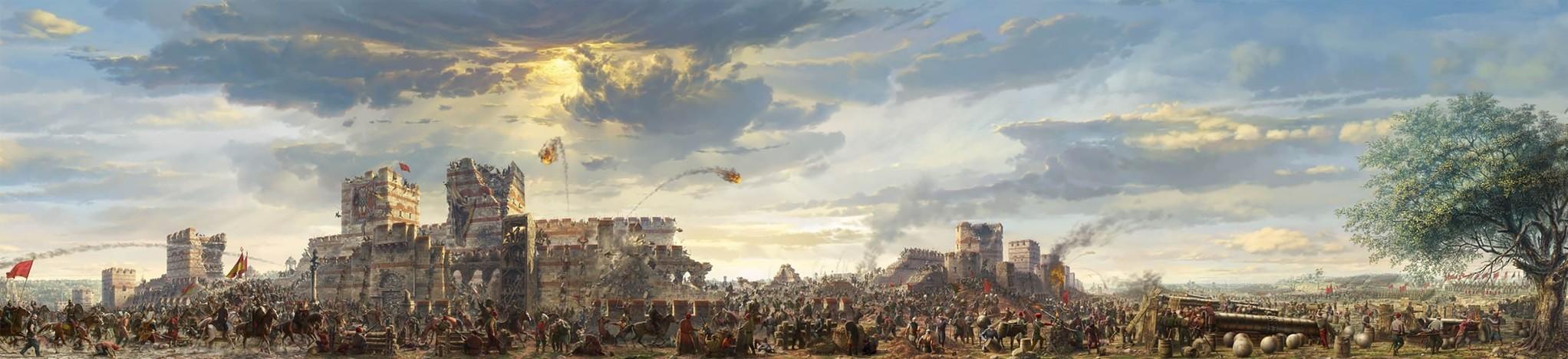 Panorama 1453, Istanbul.