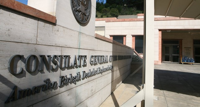 A file photo of the Consulate building of the United States of America located in Istanbul, Turkey.