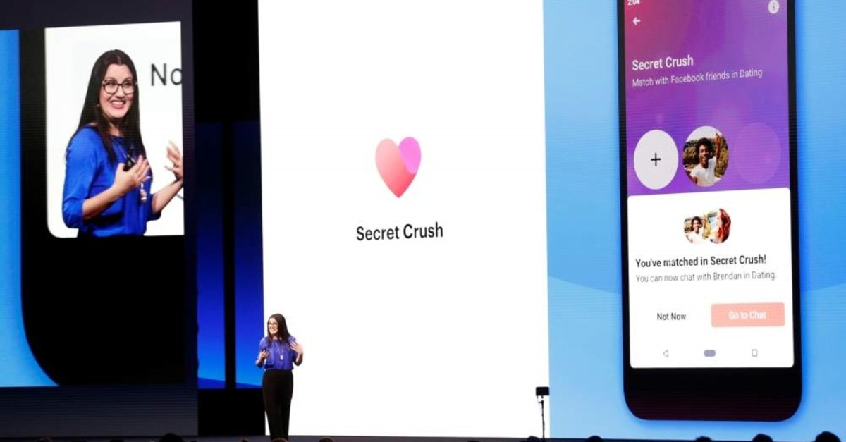 Facebook's Fidji Simo speaks about the Facebook Dating app during Facebook Inc's annual F8 developers conference in San Jose, California, U.S., April 30, 2019. (Reuters Photo)