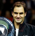 New world No. 1 Federer wins 97th title at Rotterdam Open
