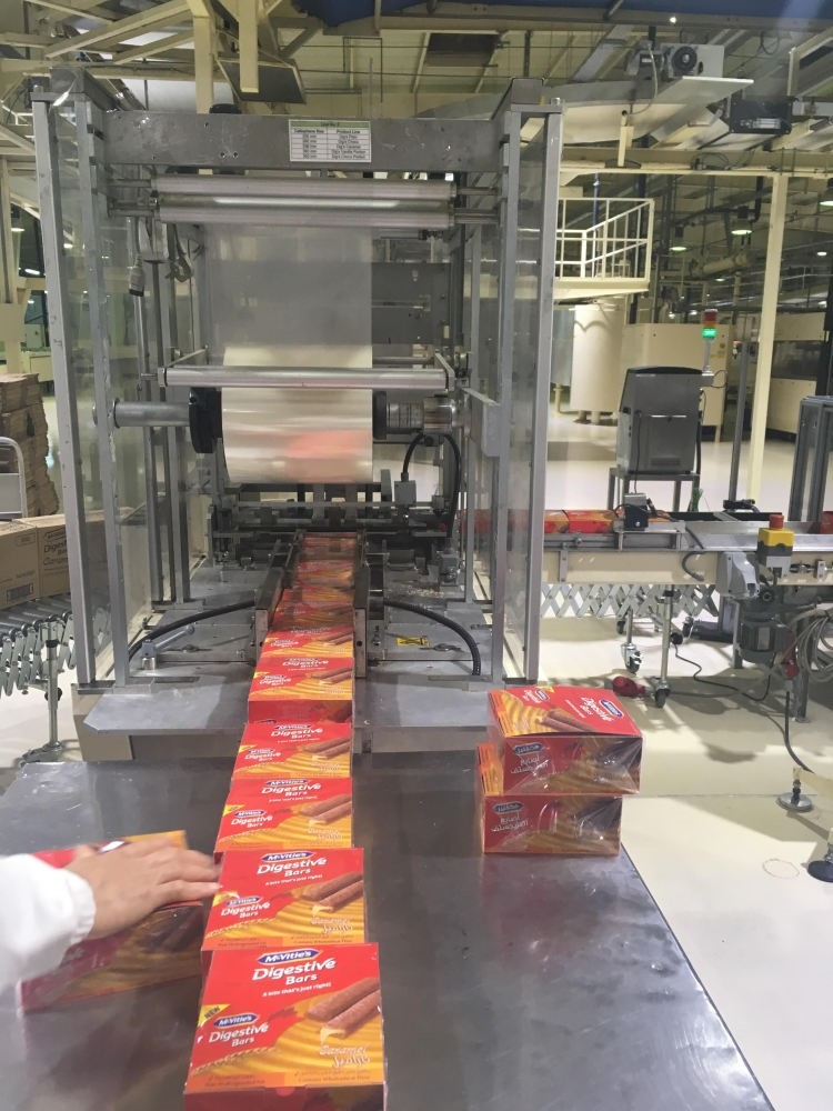 Pladis's FMC factory in Jeddah has in total 12 assembly lines on which 81 different products in four different categories, including biscuits, wafers, muffins and chocolate, are produced.