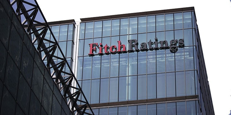 The headquarters of Fitch Ratings Ltd. stands in the Canary Wharf business and shopping district in London, U.K., on Friday, July 12, 2013. (Simon Dawson/Bloomberg via Getty Images)