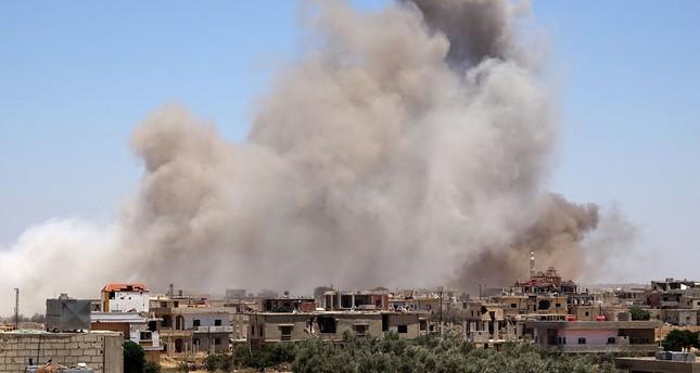 البنتاغون عن هجمات النظام السوري بدرعا: نركز على هزيمة داعش