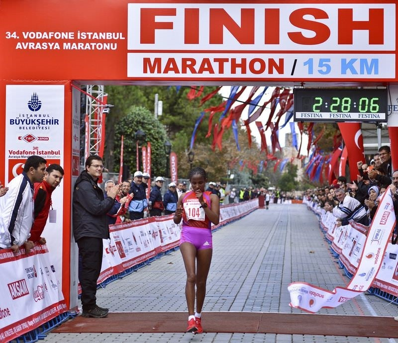 Istanbul Marathon spanned two continents for the 36th time