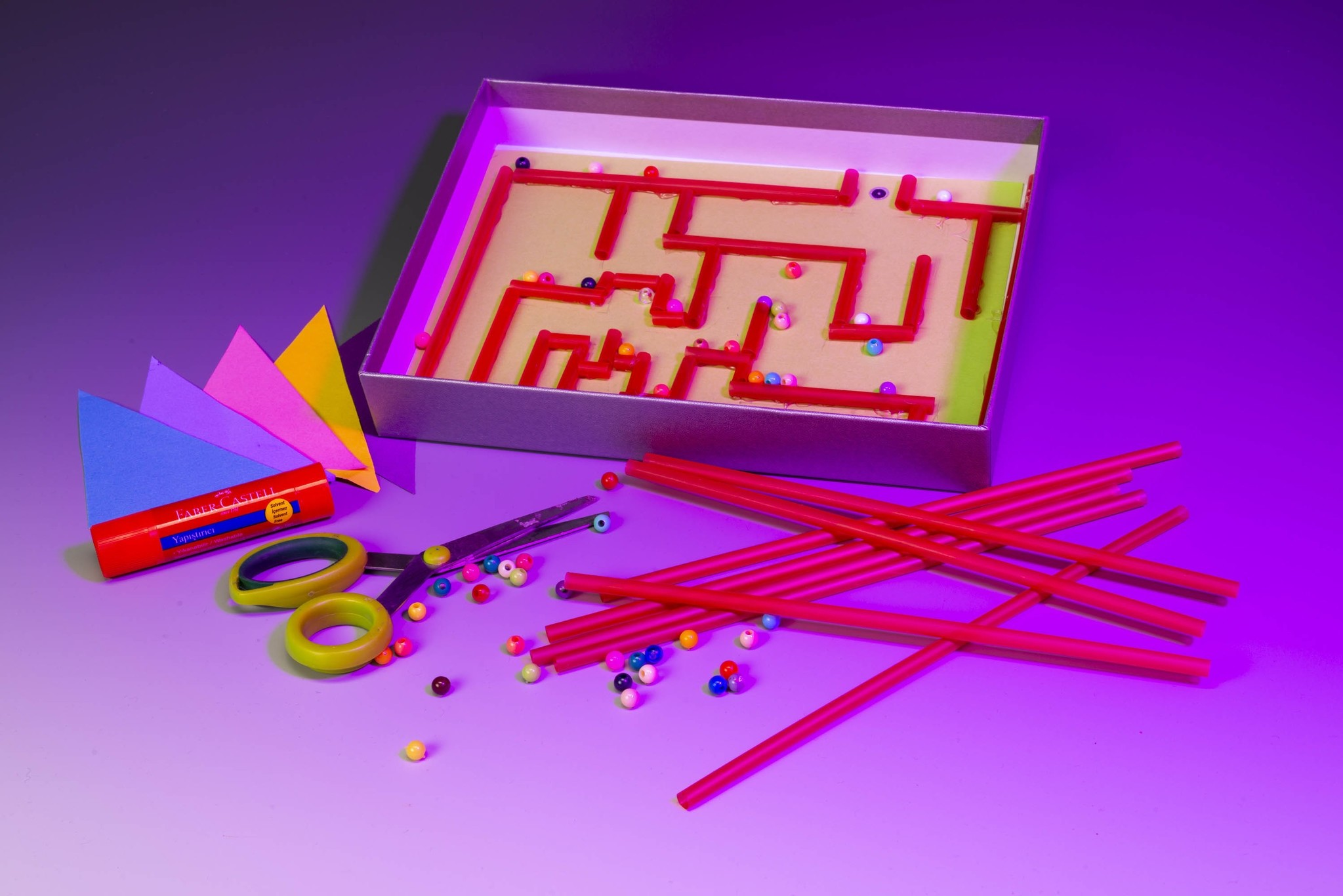 The Labyrinth Game workshop for 7-12 year olds focuses on the concept of measurement.
