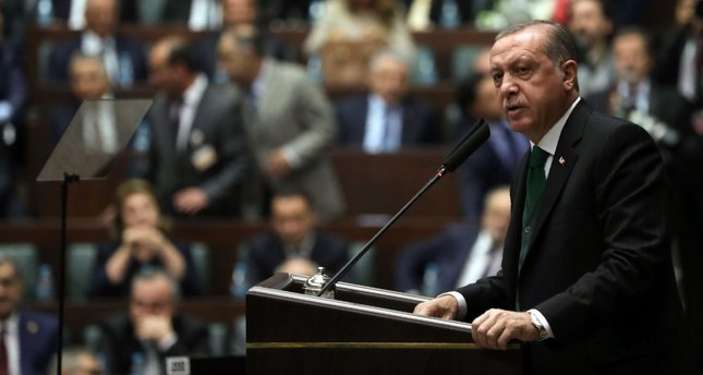 Stressing that the constitutional changes approved in the April 16 referendum will be put into practice with the 2019 elections, Erdoğan said that his party has already knuckled down to work to rebuild the country's administrative structure.