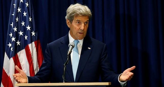 U.S. Secretary of State John Kerry addresses a news conference in Kenya's capital Nairobi, August 22, 2016. (Reuters Photo)