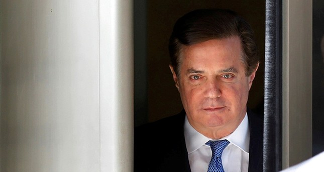Former Trump campaign manager Paul Manafort departs from U.S. District Court in Washington, U.S., Feb. 28, 2018. (Reuters Photo)