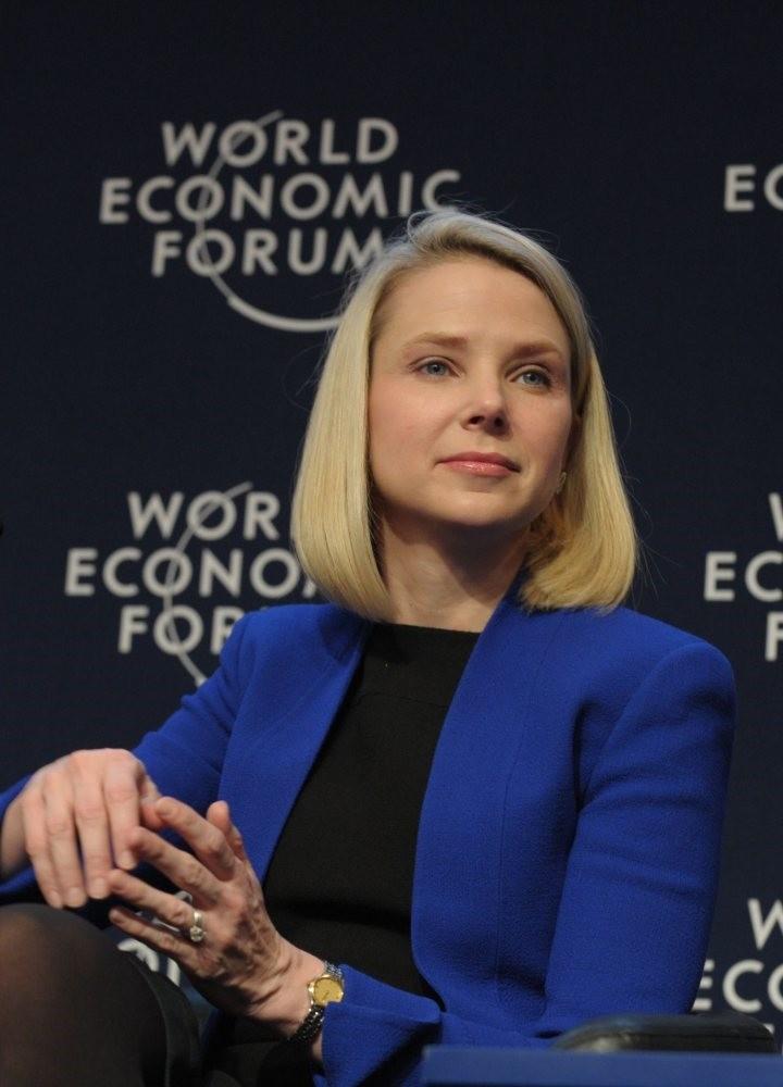 Former Yahoo CEO Marissa Mayer (AFP Photo)