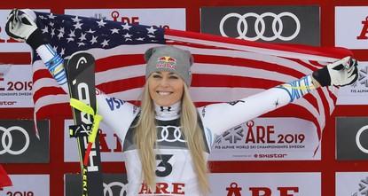 Vonn wins bronze medal in the final race of her career