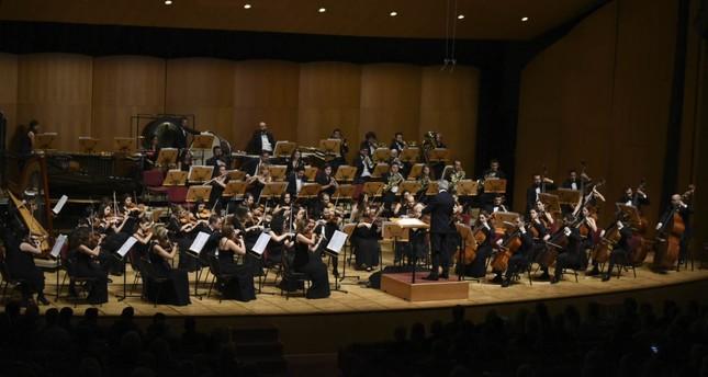 Cemal Reşit Rey Symphony Orchestra.