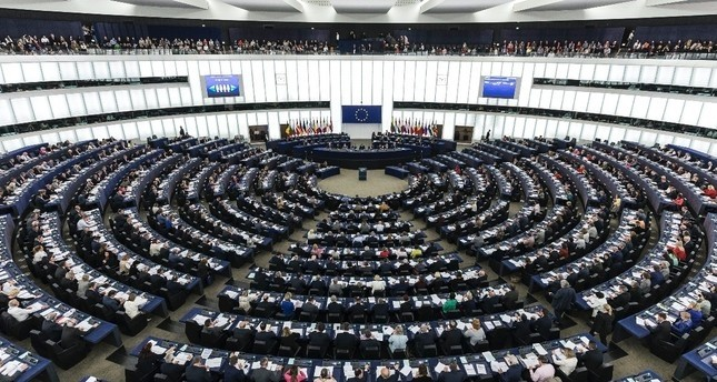 Members of the European Parliament during a plenary session in Strasbourg, May 24, 2019.