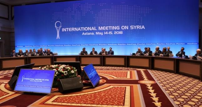 من اجتماعات أستانا حول سوريا السابقة (من الأرشيف)