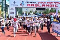 Children of Istanbul run in their own marathon