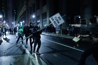 Super Bowl win sparks wild celebrations with rioting, violence in Philadelphia