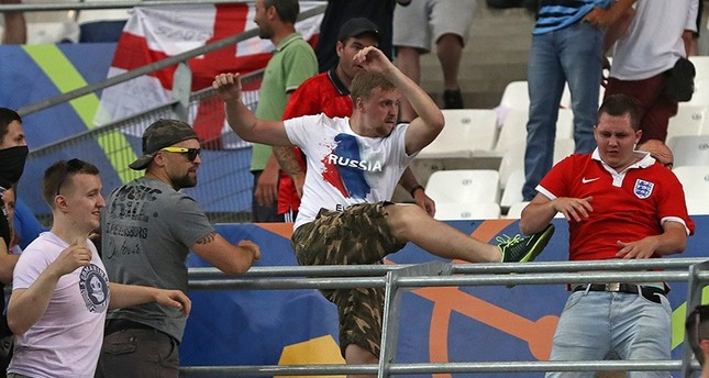 UEFA hands suspended disqualification to Russia, 29 fans deported from France