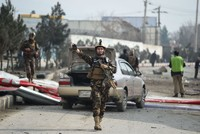 1 girl killed, 22 injured in suicide car bomb targeting Australian embassy vehicles in Kabul