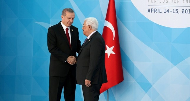Erdoğan holds phone calls with Saudi King Salman, Palestine's Abbas