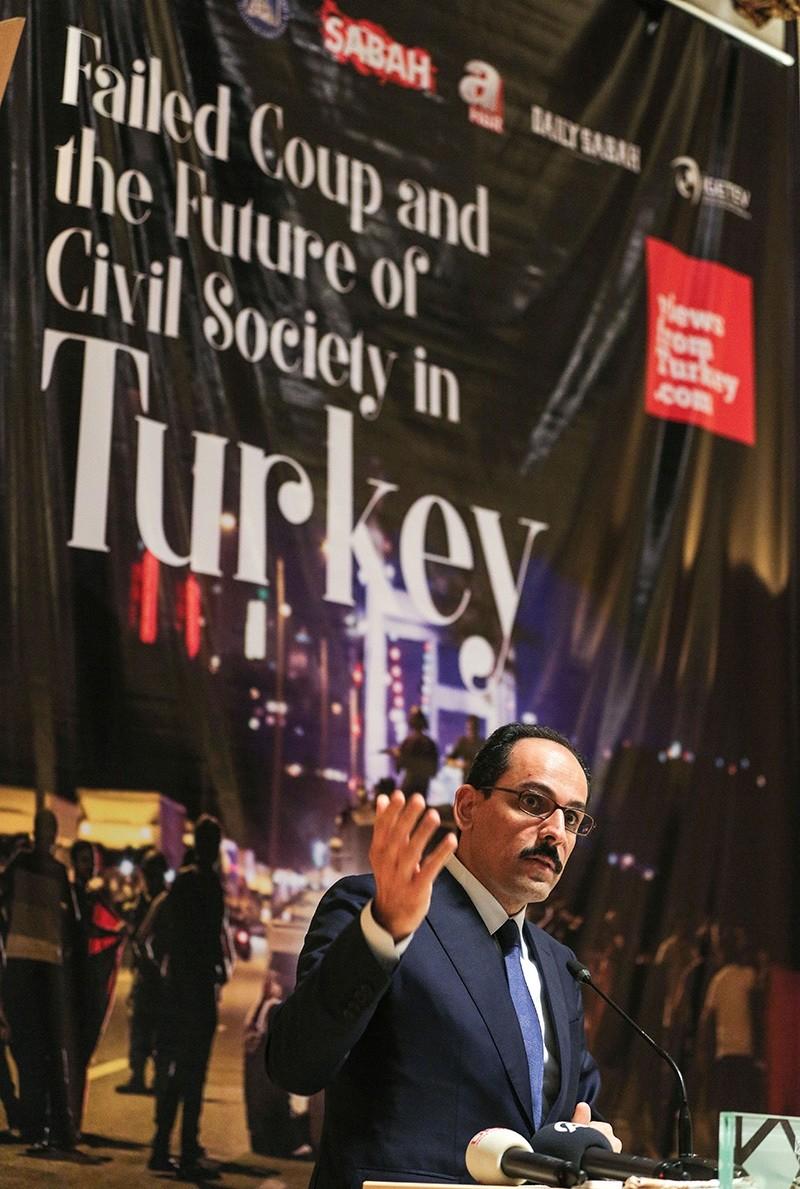Presidential Spokesman Ibrahim Kalın (AA Photo)
