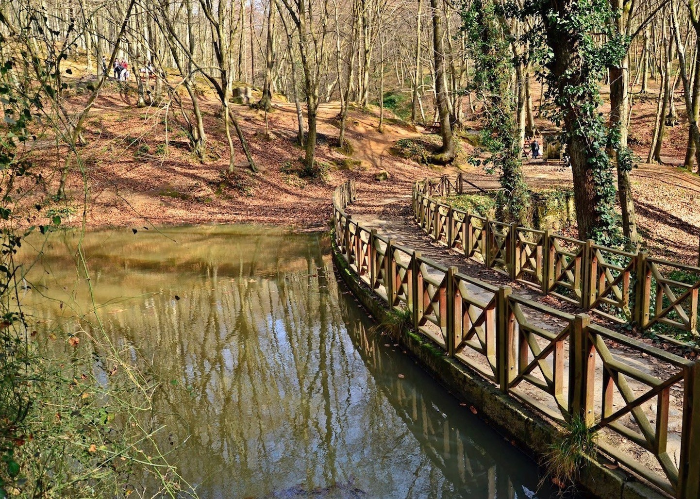 While walking in the Belgrad forest which was an important water collection center in the history, the streams will add to your joy.