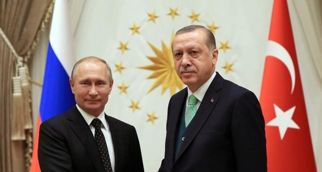 Эрдоган обсудил с Путиным операцию Турции на севере Сирии