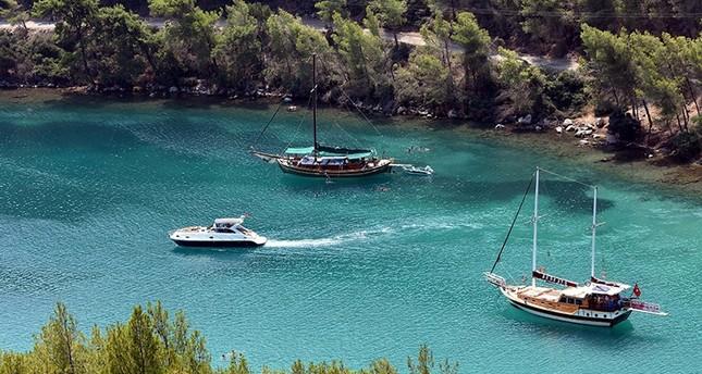الرحلات الزرقاء.. الخيار المفضل لزوار ولاية موغلا جنوب غربي تركيا