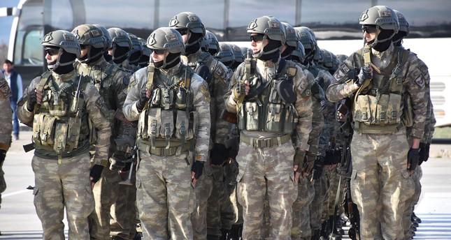 قوات خاصة إضافية تتجه من شرناق إلى عفرين