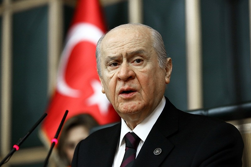 Opposition Nationalist Movement Party (MHP) Chairman Devlet Bahu00e7eli said the Turkish state can overcome all kinds of trouble u201cwith solidarity.u201d
