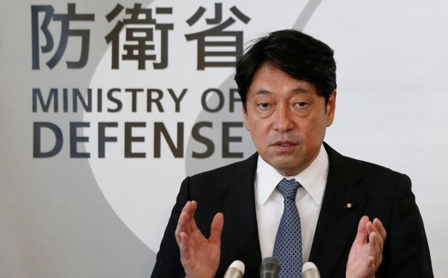 Japan's Defence Minister Itsunori Onodera attends a news conference at Defence Ministry in Tokyo, Japan August 8, 2017. Reuters Photo