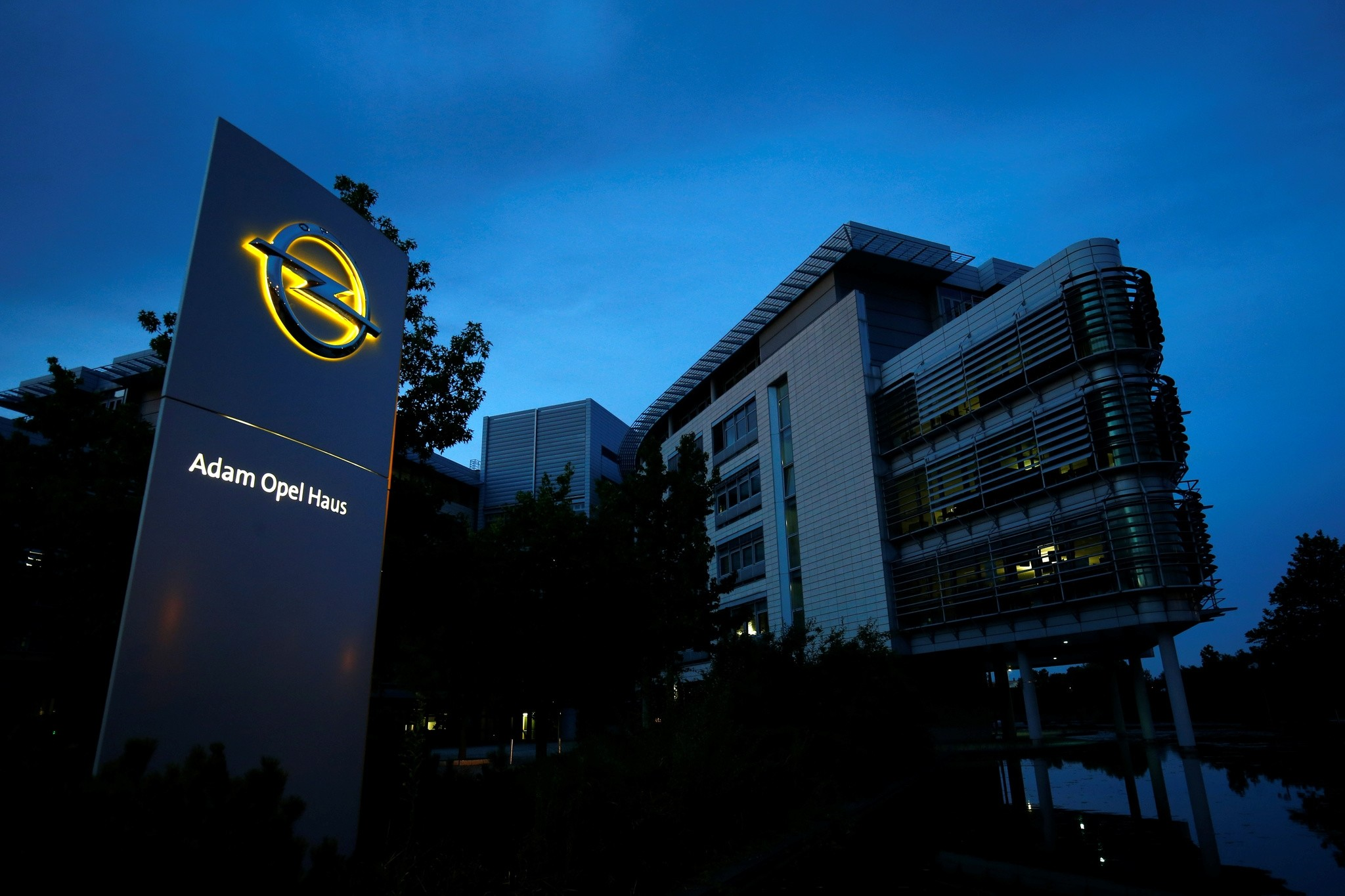 The Opel headquarters are pictured in Ruesselsheim, Germany July 4, 2018. (Reuters Photo)