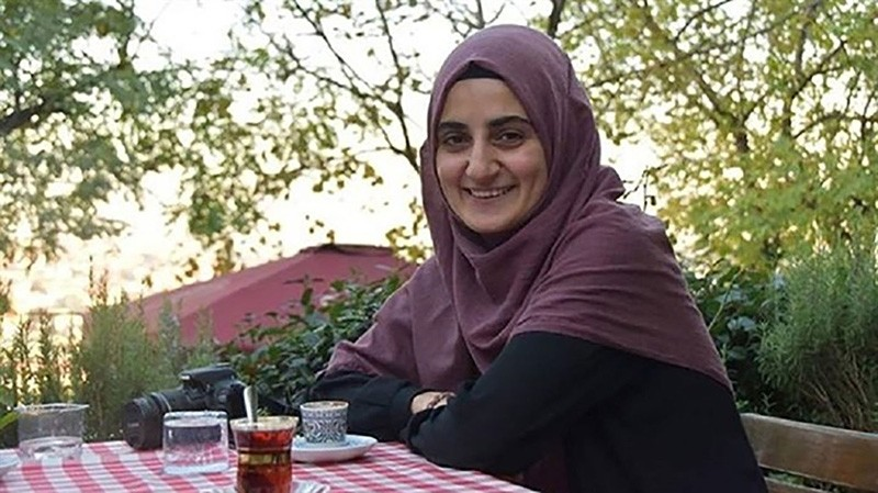 Turkish national Ebru u00d6zkan, who was detained by Israeli authorities at Ben Gurion Airport in Tel Aviv on June 11, 2018. (Sabah File Photo)
