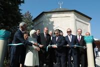 Erdoğan inaugurates restored Ottoman-era Gül Baba Tomb in Budapest