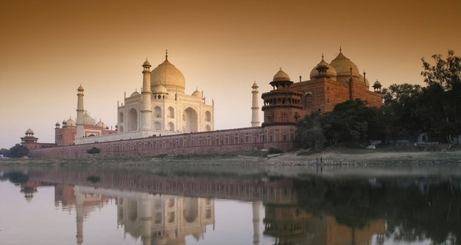 The Taj Mahal is located on the right bank of the Yamuna River and is one of the finest examples of Islamic architecture in India as well as the world.