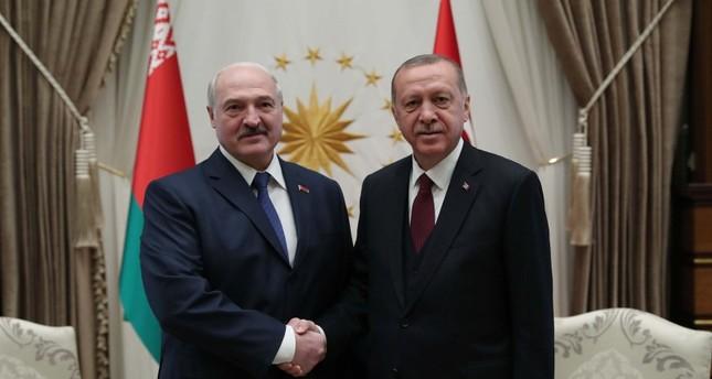 أردوغان يعرب عن ثقته بإمكانية رفع حجم التبادل التجاري مع بيلاروسيا إلى 1.5 مليار دولار