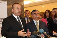 FM Çavuşoğlu discusses Aleppo with Russian, Iranian counterparts
