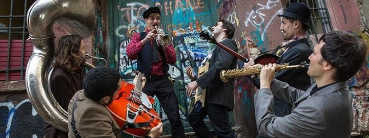 The Uninvited Jazz Band are an eclectic group of expat musicians.