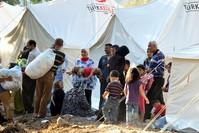 |Ein Kızılay-Flüchtlingslager an der syrischen Grenze (AA)