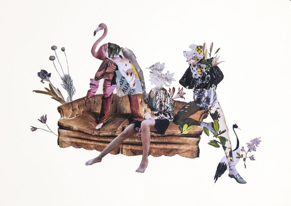 Ekinsu Kou00e7u2019s work u201cHappy at Nowhereu201d allows us to follow the susconscious of the artist.