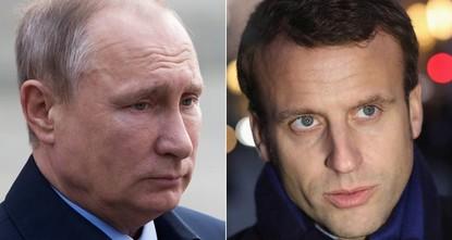 تحدث الرئيس الروسي فلاديمير بوتين للمرة الأولى هاتفيا مع الرئيس الفرنسي الجديد إيمانويل ماكرون كما أعلن الكرملين الخميس.  وقال الكرملين في بيان إن