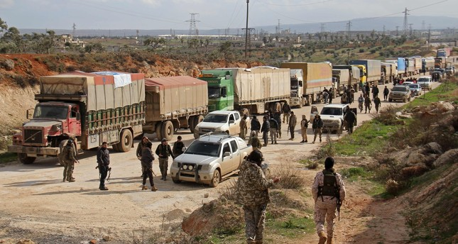 Evacuation deal reached for 4 besieged Syria towns