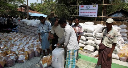 pTurkey's Humanitarian Relief Foundation (IHH) said Thursday that it had delivered food to over 1,000 displaced Rohingya Muslim families in Myanmar so far this month./p  pThe aid -- including...