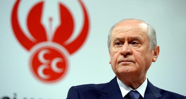 Opposition MHP Chairman Devlet Bahçeli