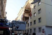 12 injured after buildings partially collapse in Vienna gas explosion
