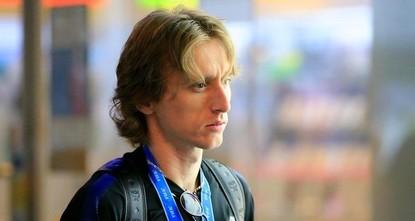 Полузащитник «Реала» Модрич прибыл в Бодрум для семейного отдыха