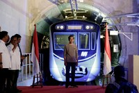Indonesia inaugurates first metro line in gridlocked capital