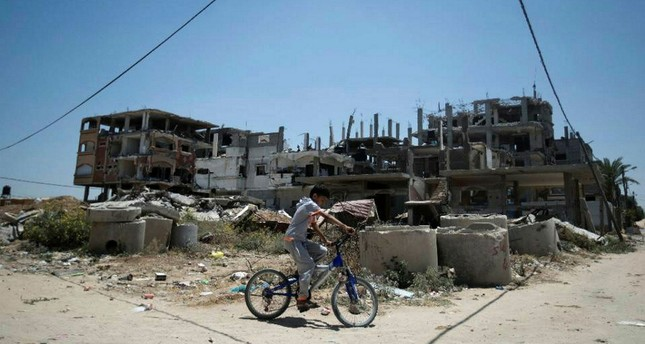 Palestinian children locked inside Gaza suffer from growing humanitarian crisis.